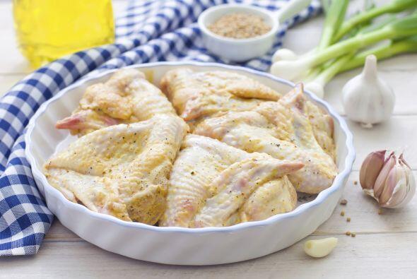 Alitas de pollo al limón: Para preparar esta versión sin r...