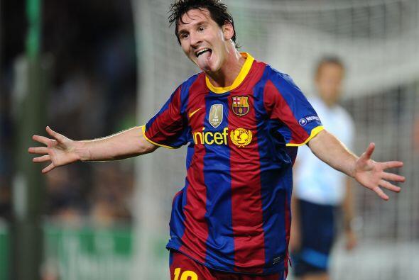 Pero apenas poco después Lionel Messi 'arregló' las cosas igualando.