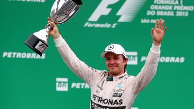 Nico Rosberg ganó el Gran Premio de Brasil
