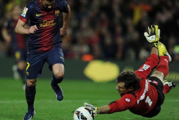 Barcelona gozó de varias oportunidades claras, pero el gol tardó en llegar.