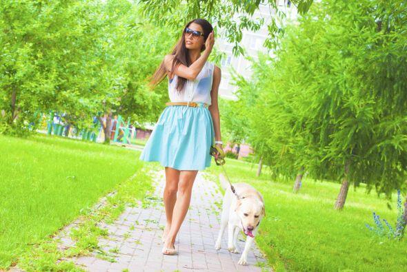 Una paseo en un parque puede ser la mejor cita entre los dos.