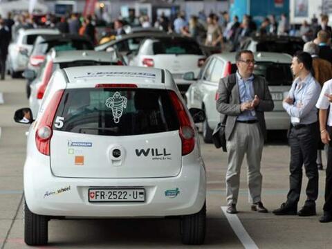 El Autoshow de Híbridos y Eléctricos en Berlín, Alemania reunió los mode...