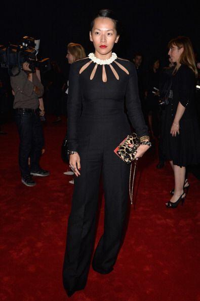 La blogger y 'fashion styling', Tina Leung no podía perderse uno...