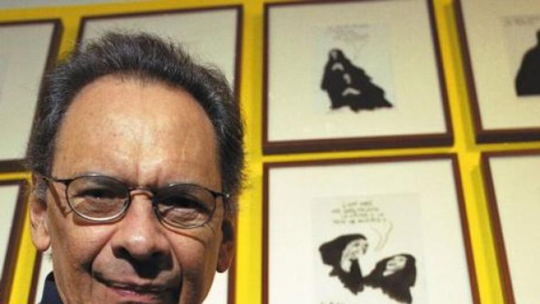 El caricaturista, humorista, escritor y pintor venezolano Pedro León Zap...