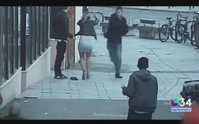 Hombre atacó a una pareja por hablar en español
