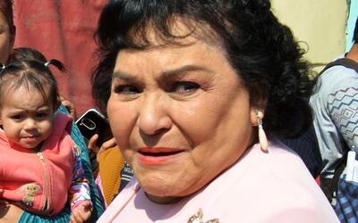 """Carmen Salinas opinó que el """"gasolinazo"""" en México era absolutamente nec..."""