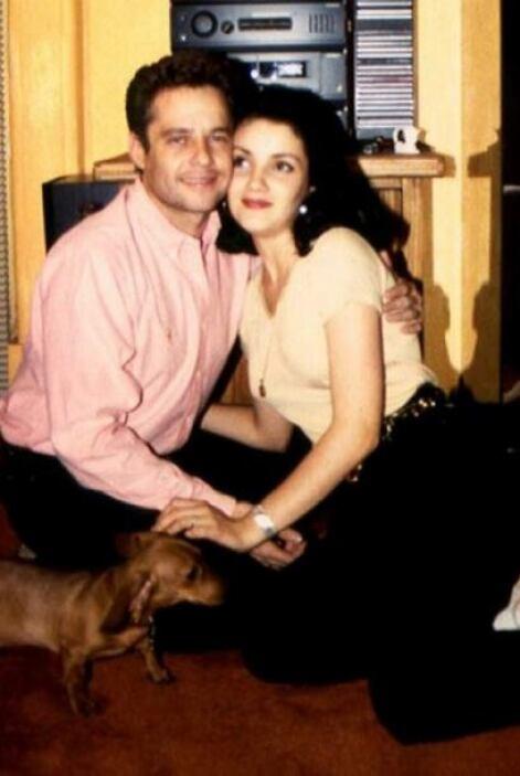 Estuvieron casados pero su matrimonio terminó en poco tiempo.