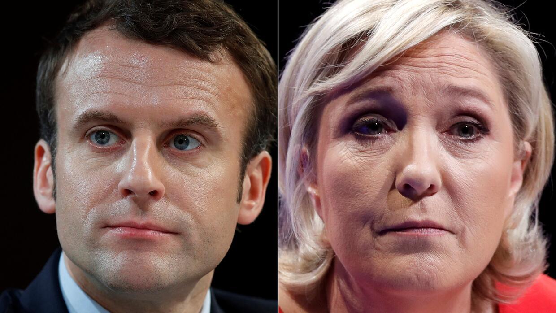 De confirmarse los resultados, Macron y Le Pen serían los candidatos que...