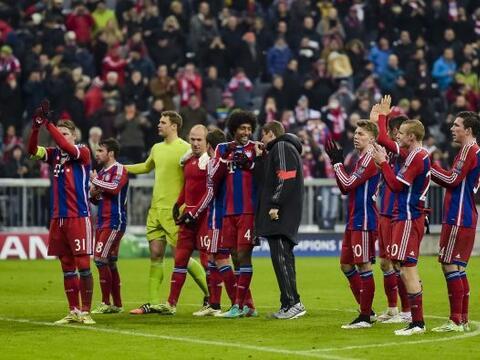 Aunque la cima del Grupo E ya la tenía asegurada, el Bayern Munic...