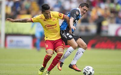 Querétaro empató 2-2 con Morelia