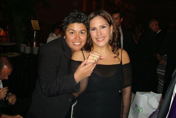 Elena Jiménez fue la encargada de diseñar los anillo de ma...