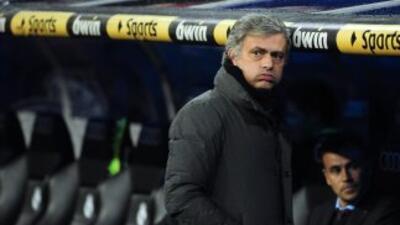 El entrenador del Madrid aprovechó para 'espiar' a su próximo rival en L...