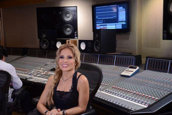 Univision.com estuvo con Gloria Trevi durante la grabación de la...