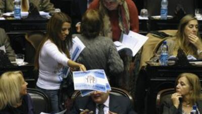 Fuentes parlamentarias estimaron que el debate se extenderá durante al m...