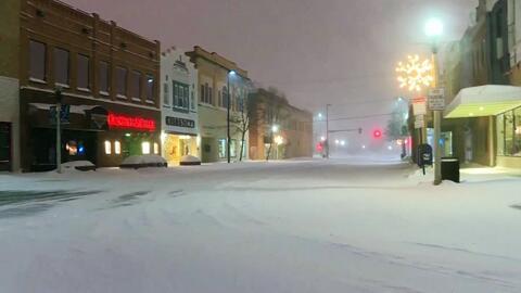 Blanca y fría Navidad en el norte y centro del país