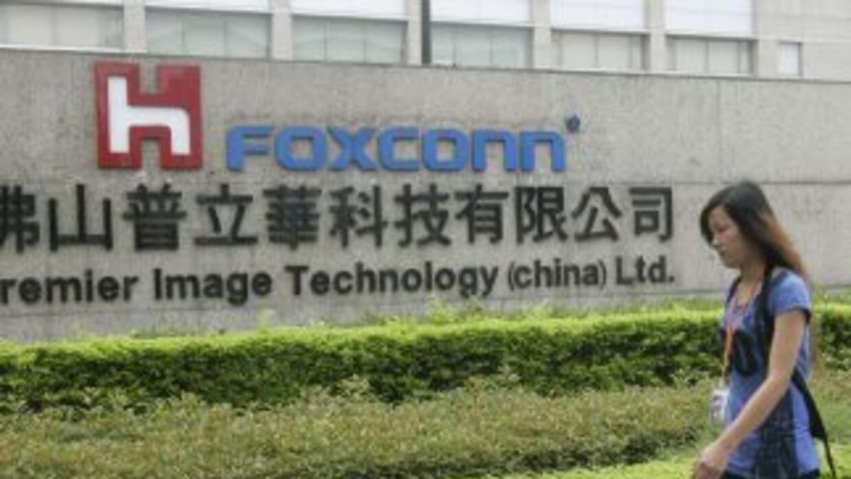 Foxconn da empleo a 1.2 millones de personas en China.
