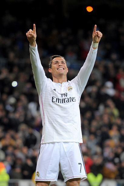 Cristiano Ronaldo concluyó un 2014 inolvidable marcando 25 goles en solo...