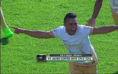 Top 5 de golazos de la J9 de la Liga MX
