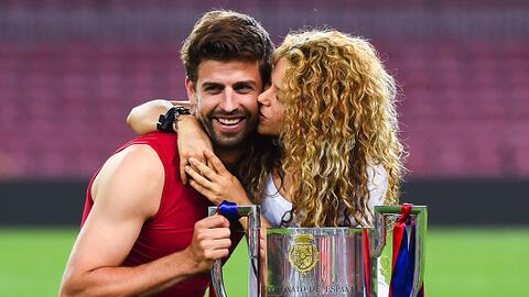 Pique y Shakira Copa del Rey