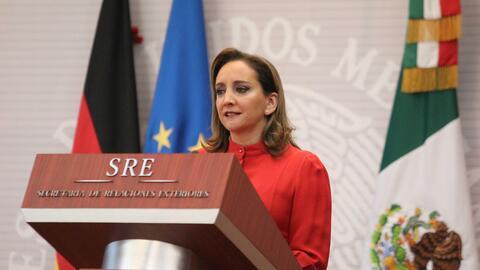 Claudia Ruiz, titular de la Secretaría de Relaciones Exteriores (...
