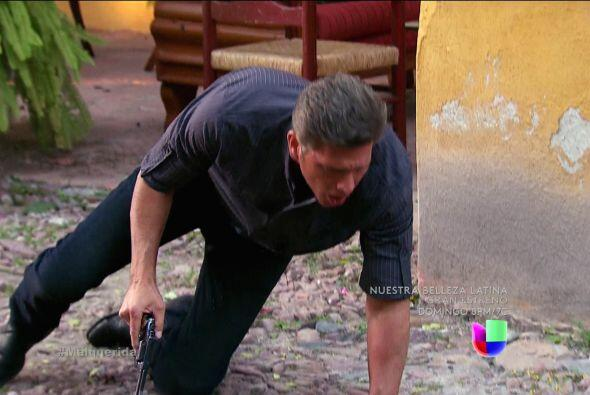 Bueno, Norberto finalmente se vengó y te disparó con todo...