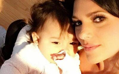 Sofía, la bebita de Bárbara Bermudo, sacó el ritmo caribeño de sus padres