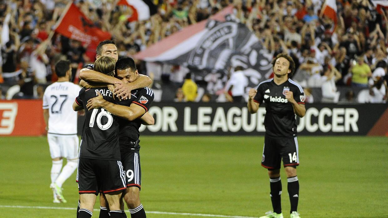 D.C. United celebra triunfo sobre Philadelphia Union