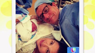 Angélica Vale ya es mamá por segunda vez, nació Daniel Nicolás