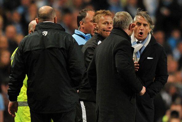 El entrenador del City no se quedó callado y le respondió de mismo modo....
