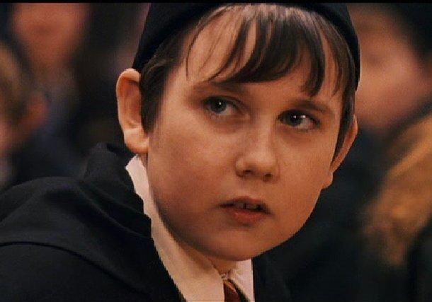 Así salía Matthew en la saga de 'Harry Potter'