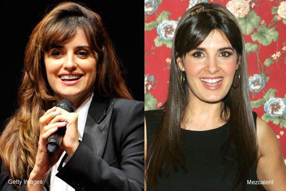 Si bien no son hermanas, la española Penélope Cruz y Mayrín Villanueva c...