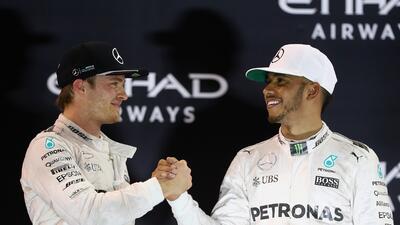Nico Rosberg/Lewis Hamilton