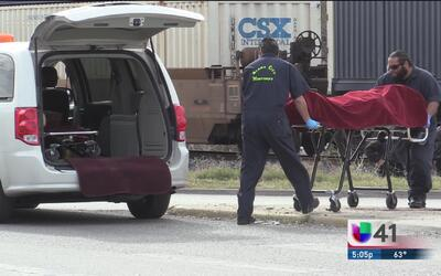 Hombre muere arrollado por el tren al noreste de la ciudad