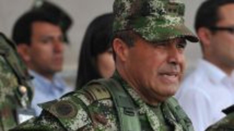 Alejandro Navas, comandante de las Fuerzas Militares de Colombia, dijo q...