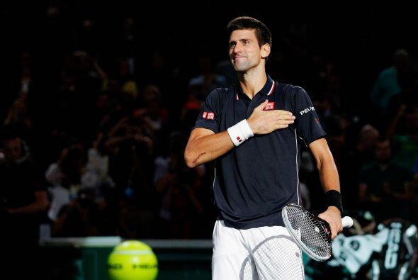 En el circuito mundial del tenis varonil, el serbio Novak Djokovic se ll...