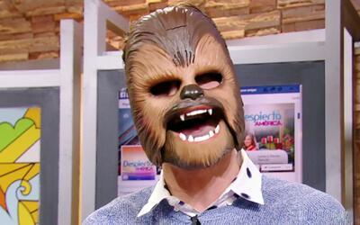 La risa de Chewbacca que pasará a la historia, William intentó copiar la...