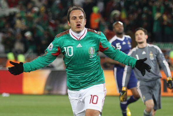 Y se dio el gusto de marcarle un gol a Francia en la primera fase.