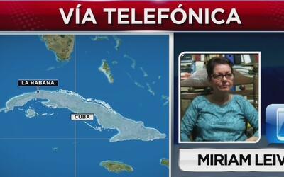 """Miriam Leiva, fundadora de Las Damas de Blanco: """"La crisis que viene, y..."""
