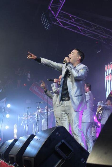 El vocalista de La Original Banda El Limón estuvo muy codiciado por las...