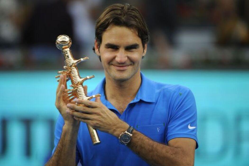 El checo Tomas Berdych sacó lo mejor de Roger Federer, y el suizo se con...