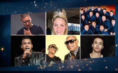 Estos artistas son algunos de los nominados que arrasan también en los l...