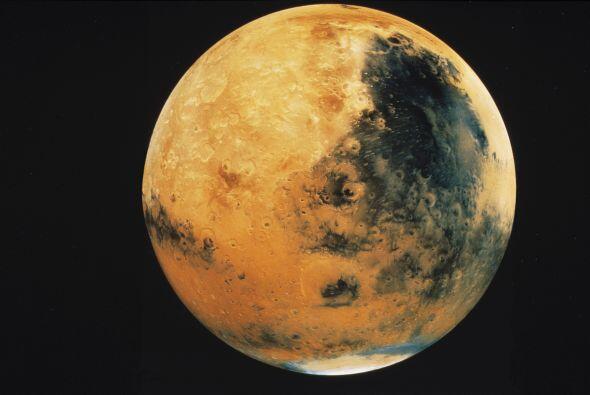 Marte es en honor al dios romano de la guerra.