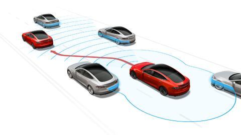 Autopilot en acción: El sistema es capaz de cambiar de canal cuando lo c...