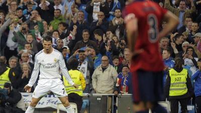 El triunfo conducido por Cristiano Ronaldo le dio impulso al Real Madrid...