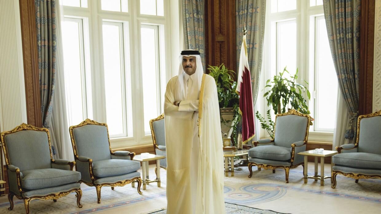 Sheik Tamim bin Hamad Al-Thani, emir de Qatar Brendan Smialowski/Pool Photo via AP, archivo