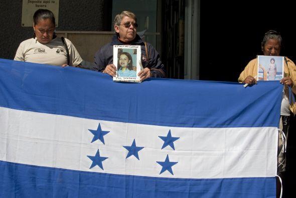 Los familiares lamentaron que el gobierno de México no proteja más a qui...