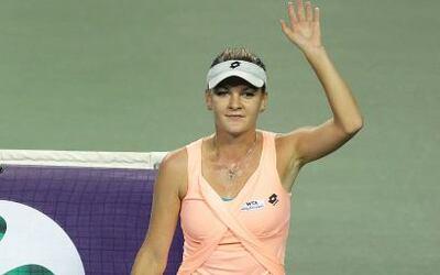 La polaca Agnieska Radwanska alcanzó su pase a la final del torneo de To...
