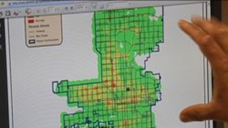 Nuevo mapa de crimen en Phoenix