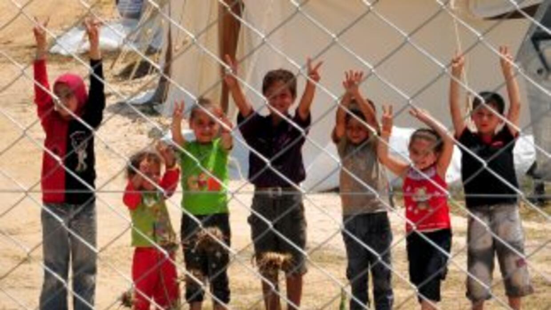 La guerra en Siria ha obligado a más de 4.8 millones de personas a huir...