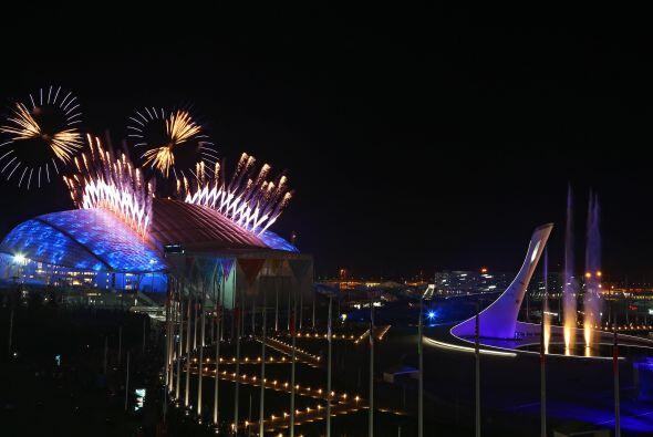 Fue otro guiño, esta vez a la clausura de los Juegos Olímpicos de Verano...